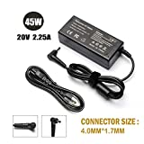 45W Computer Laptop Charger for Lenovo Ideapad 710 100 110 110s 120s 310 320 320s 510 510s 710s 720s ;Yoga 710 11 14 15; Flex 4 1130 1470; N22 N23 GX20K11838 Power Supply Cord