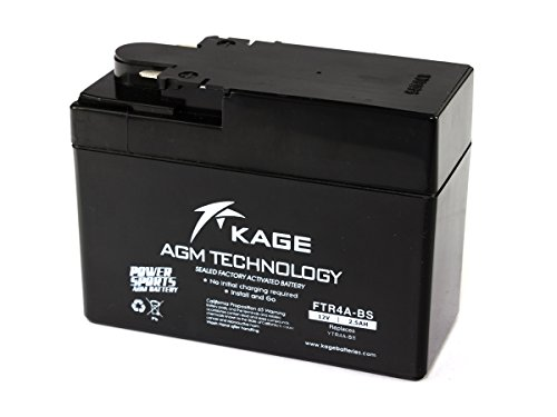 Batterie GEL H O N D A KAGE YTR4A-BS 2,5AH