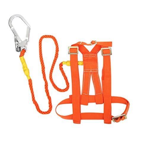 XYQY Klettergurt Kletterseil Sicherheitsgurt Outdoor Rock Lanyard BAU Sicherheitsweste Hochfeste Camping Cord Wandern Zubehör