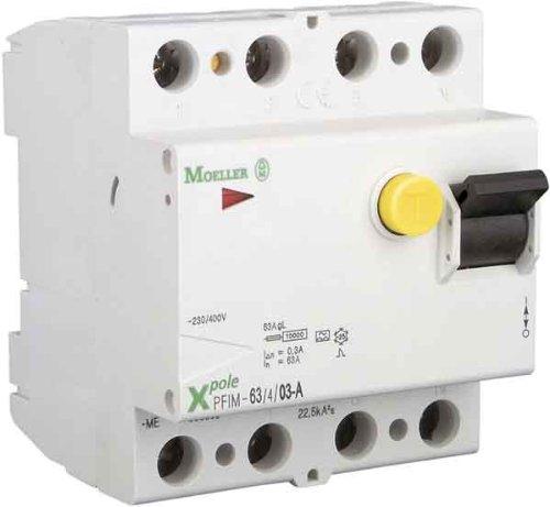 Eaton 236779 Fi-Schutzschalter 4-polig 40A 500mA PXF-40/4/0,5A