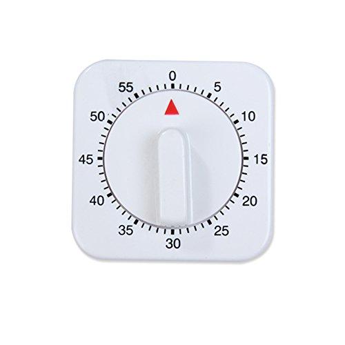 Hemore Küchentimer 60 Minuten Timing mit 80 dB Alarmton magnetischer Countdown-Timer Home Backen Kochen Dampfen Manueller Timer 1 Stück