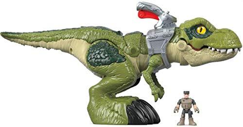 Imaginext Jurassic World figurine dinosaure T Rex Méga Mâchoire, jouet pour enfant dès 3 ans, GBN14