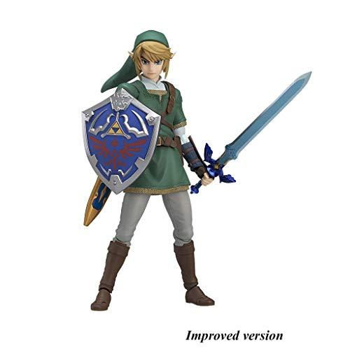 Jiaming The Legend of Zelda Twilight Princess Link-Figma Action Figure-5.5 Zoll