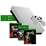 Microsoft Xbox One X 1TB - Fallout 76 Bundle Special Edition Weiß + Call of Duty: Black Ops 4 Standard Plus Edition + Gears of War 4 Download Code