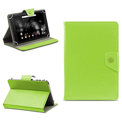 na-commerce Tablet Tasche für TrekStor Primetab P10 Schutzhülle Hülle Case Schutz Cover Etui, Farben:Grün