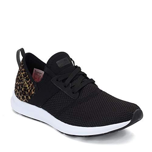 New Balance women's Fuelcore Nergize V1 Sneaker, Black/White, 8.5 US