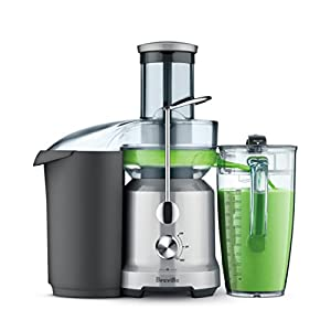 Breville BJE430SIL Juice Fountain Cold Centrifugal Juicer, Silver |