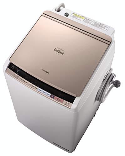 日立 洗濯乾燥機 ビートウォッシュ 9kg シャンパン BW-DV90B N