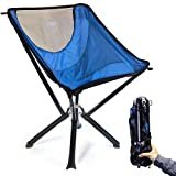 Cliq Outdoor Chair - Bottle Sized Foldable Chair Designed for Outdoor and Lawn surroundings - Folding Chairs for Outside Support up to 300 lbs.