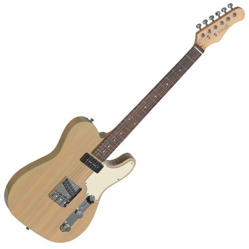 Stagg SET-CST YW guitarra eléctrica