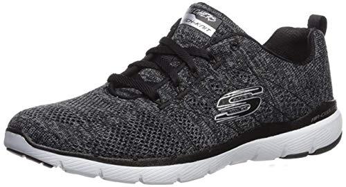 Skechers Damen Flex Appeal 3.0-high Tides Sneaker, Schwarz, 37 EU