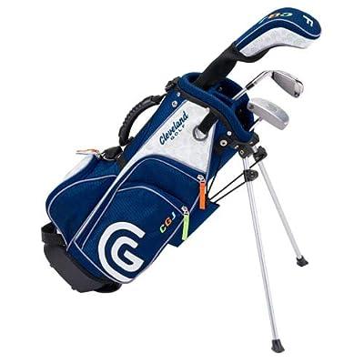 Cleveland Golf Junior Golf Set, Medium Ages 7-9, 6 Clubs and Bag