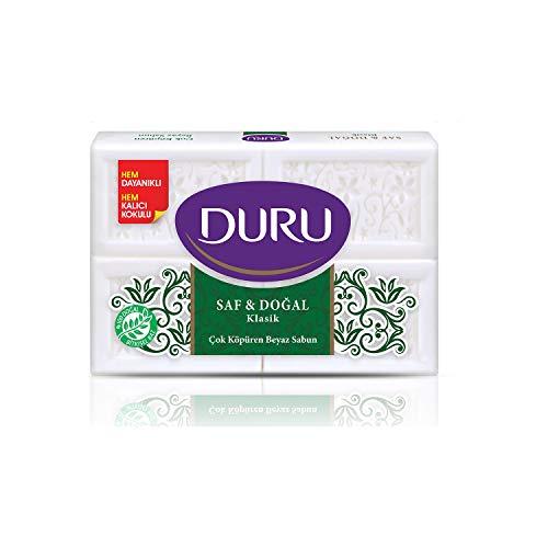 Duru Pure and Natural Bar Soap, Classic, 24.69 Ounce by Duru