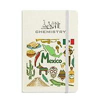 メキシコ風景動物の国旗 化学手帳クラシックジャーナル日記A 5