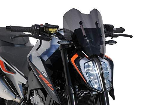 ERMAX Naked-Bike-Scheibe Sport kompatibel mit KTM 790 Duke 2018-2019 KTM 790 Duke