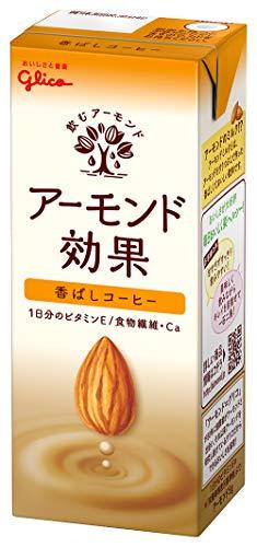 グリコアーモンド効果香ばしコーヒーアーモンドミルク常温保存可能200ml×24本
