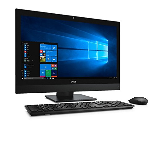 Dell OptiPlex 7450 23.8 Inch All-in-One PC, Intel Quad Core i7-7700 up to 4.2GHz, 8G DDR4, 256G SSD, HDMI, DP, Windows 10 Pro 64 Bit-Multi-Language Supports English/Spanish/French(Renewed)