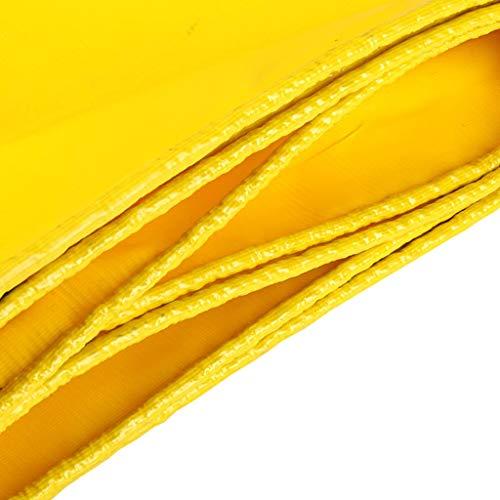 Plane vochtbestendige zonwering hangmat geweven dekzeil schaduw knuffeldeken waterdicht heavy duty luifel afdekking stof geel