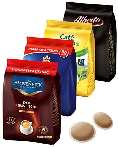 J.J. Darboven Kaffeepads Testset 4 x 36er (1008 g)