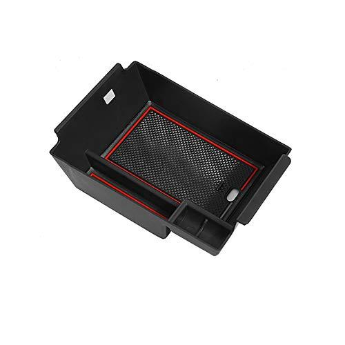 CDEFG para Benz GLE W167 SUV Caja de almacenamiento, Consola Central Apoyabrazos Caja del coche Interior Center Armrest Storage Box, Con Tapete Antideslizante Accesorios Interiores del coche