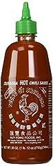 Huy Fong Sriracha Chili Hot Sauce, 28 Ounce Bottle (Pack of 2)