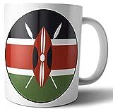 Kenia – Kenianische Flagge – Tee – Kaffee – Tasse – Geburtstag – Weihnachten – Geschenk – Wichteln – Strumpffüller.