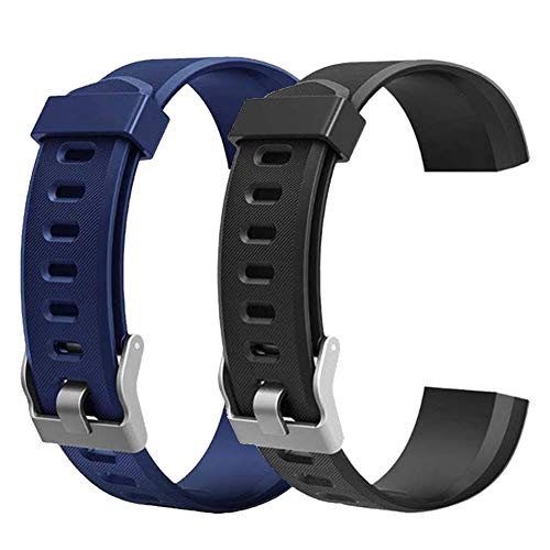 ID115Plus HR Replacement Bands For Letscom, Lintelek, Letsfit...