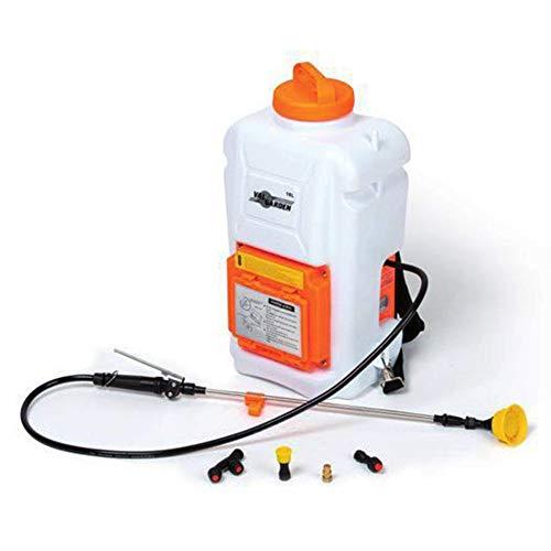 Valgarden - Bomba pulverizadora de mochila de 16 litros, con batería Pb 16 l, batería de litio