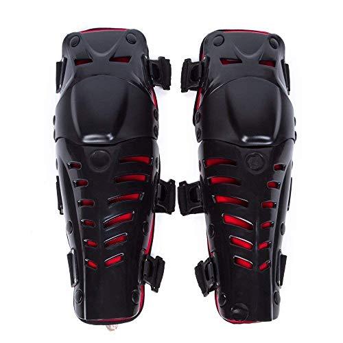 Wildken Knie Ellenbogen Knieprotektoren Lange Schienbeinschutz Rüstungsschutz Schienbeinschoner Armschützer Schutzausrüstung für Motocross Motorrad Fahrrad Skateboard-Fahrrad das taktischen Sport