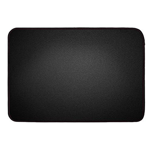 Tuneway 21 Inch Black Polyester Computer Monitor Protector with Inner Soft Lining for LCD Screen