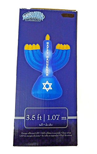 Gemmy Airblown Inflatable Happy Hanukkah 3.5 feet