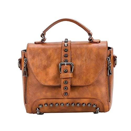 GZQDX portemonnee voor vrouwen faux-lederen handtas designer portemonnee badkuip schoudertas bruin