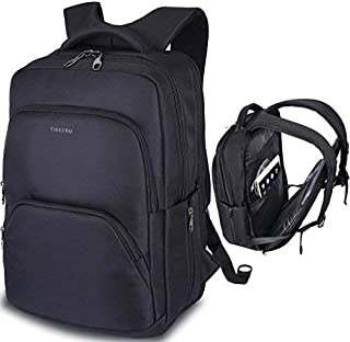 LAPACKER ScanSmart Laptop Backpack for Men & Women Travel TSA Friendly 15.6 inch Business Computer Bag Anti theft College School Bag - Black