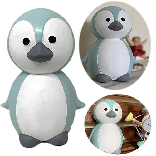 LS-LebenStil JaBaDaBaDo Keramik Sparschwein Spardose Sparbüchse Pinguin