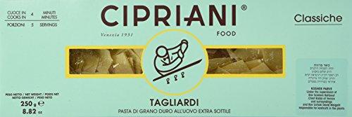 Cipriani Tagliardi Plättchennudeln All Uovo, mit Ei, 25x40mm, 250g