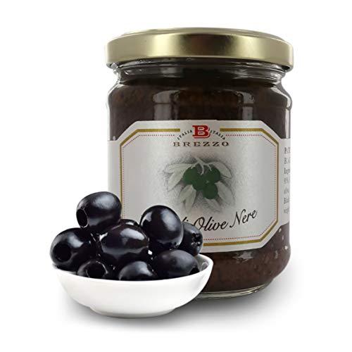 Paté di Olive Nere, 180 Grammi (Confezione da 2 Pezzi)