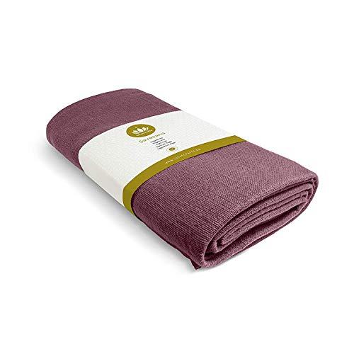 "Lotuscrafts Yoga Blanket Cotton Savasana - 100% Organic Cotton - Mexican Blanket Yoga - Meditation Blanket - Yoga Rug - Throw Blanket - Travel Blanket - Camping Blanket [80"" x 60""]"