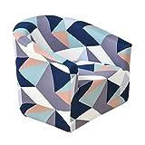 Amuzocity Funda elástica para sofá de 1 plaza, funda elástica para sillón, color