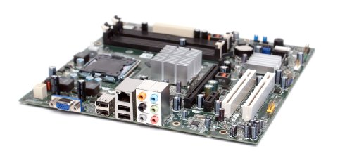 Dell T287N Motherboard Mainboard Systemboard, für Inspiron 545, 545s (Slim) Systeme, kompatible Teilenummern: N826N, DG33M06, T287N, W246R, CN-0T287N, DG33M05 Motherboard