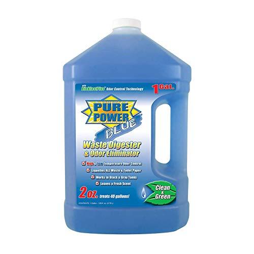 Valterra Pure Power Blue Waste Digester and Odor Eliminator - 128-Ounce Bottle