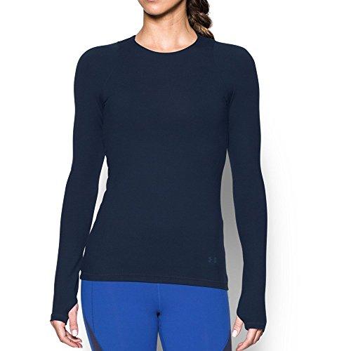 Under Armour - Camiseta Deportiva para Mujer, Primavera/Verano, Superficie de Espejo, Mujer, Color Midnight Navy/Royal, tamaño Extra-Small