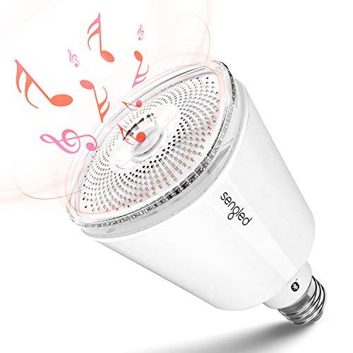 Sengled Solo Pro Smart Glühbirne mit JBL Bluetooth Lautsprecher, Dimmbar LED Bluetooth Lampe Musik Birne, Warmweiß 2700K, Steuerbar via App, Kompatibel mit Amazon Alexa [Energieklasse A+]