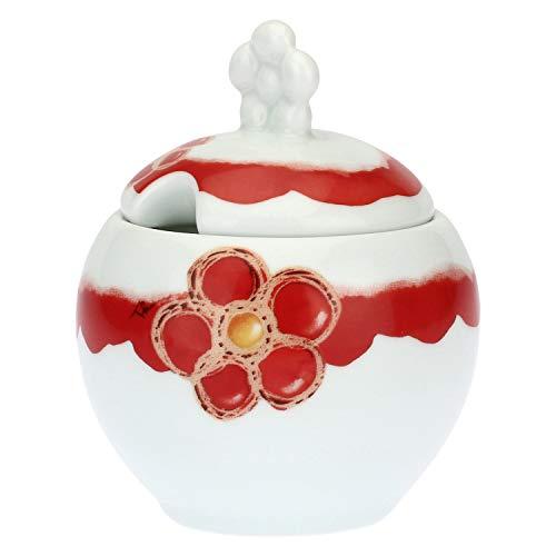 THUN ® - Zuccheriera Happy - Porcellana - h 7 cm - Ø 9,5 cm