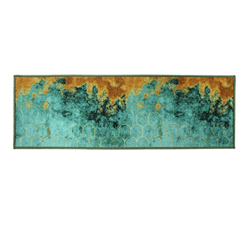 Yuui Kitchen Printed Carpet Kitchen Rug Soft Assorbente Comfort Kitchen Mat Doormat for Laundry Sink Office 40 x 60 cm
