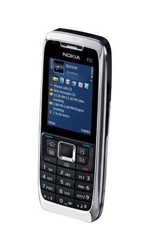Nokia E51 - Smartphone Libre - Plata