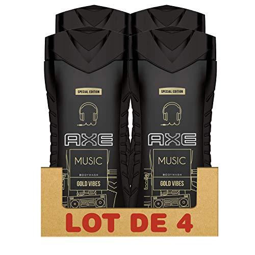 Axe Gel Douche Music 250 ml - Lot de 4