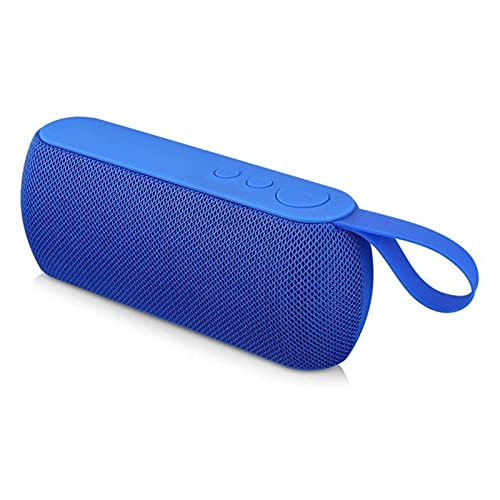 ELXSZJ XTZJ Altavoz Bluetooth portátil Altavoz inalámbrico TWS Oaring HD Sound estéreo Sound IP67 Altavoces Deportivos al Aire Libre Impermeables Bluetooth para la Fiesta en casa (Color : Blue)