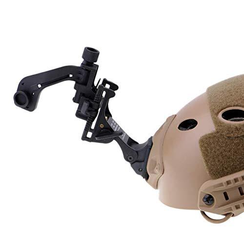 WLXW Nachtsicht Halterung+J-Arm, Taktischer Helm NVG-Montagezubehör, PVS-14 Für Mich Fast M88 Paintball-Helm