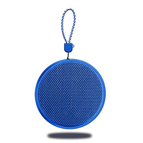 qiyanMini Bluetooth-Lautsprecher Tragbare wasserdichte drahtlose Freisprech-Lautsprecher, für Duschen, Badezimmer, Pool, Auto, Strand und Outdoor-in tragbaren Lautsprechern Blau