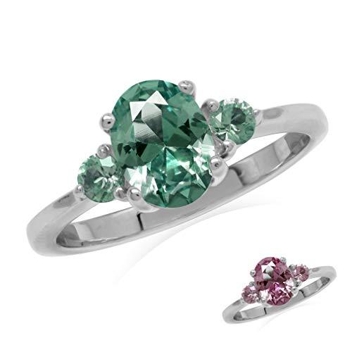 Anillos De Compromiso Oro Blanco Y Diamantes Precios marca Silvershake